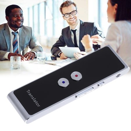 Voice Translator Portable Smart Two-Way Real Time Multi-Language Translation for Travelling (Best Voice Translator App)