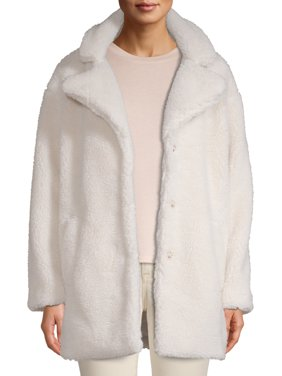 Jason Maxwell Women's Oversized Sherpa Coat