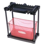 Rubbermaid FG5A4300BLARD Red and Black Sports Station