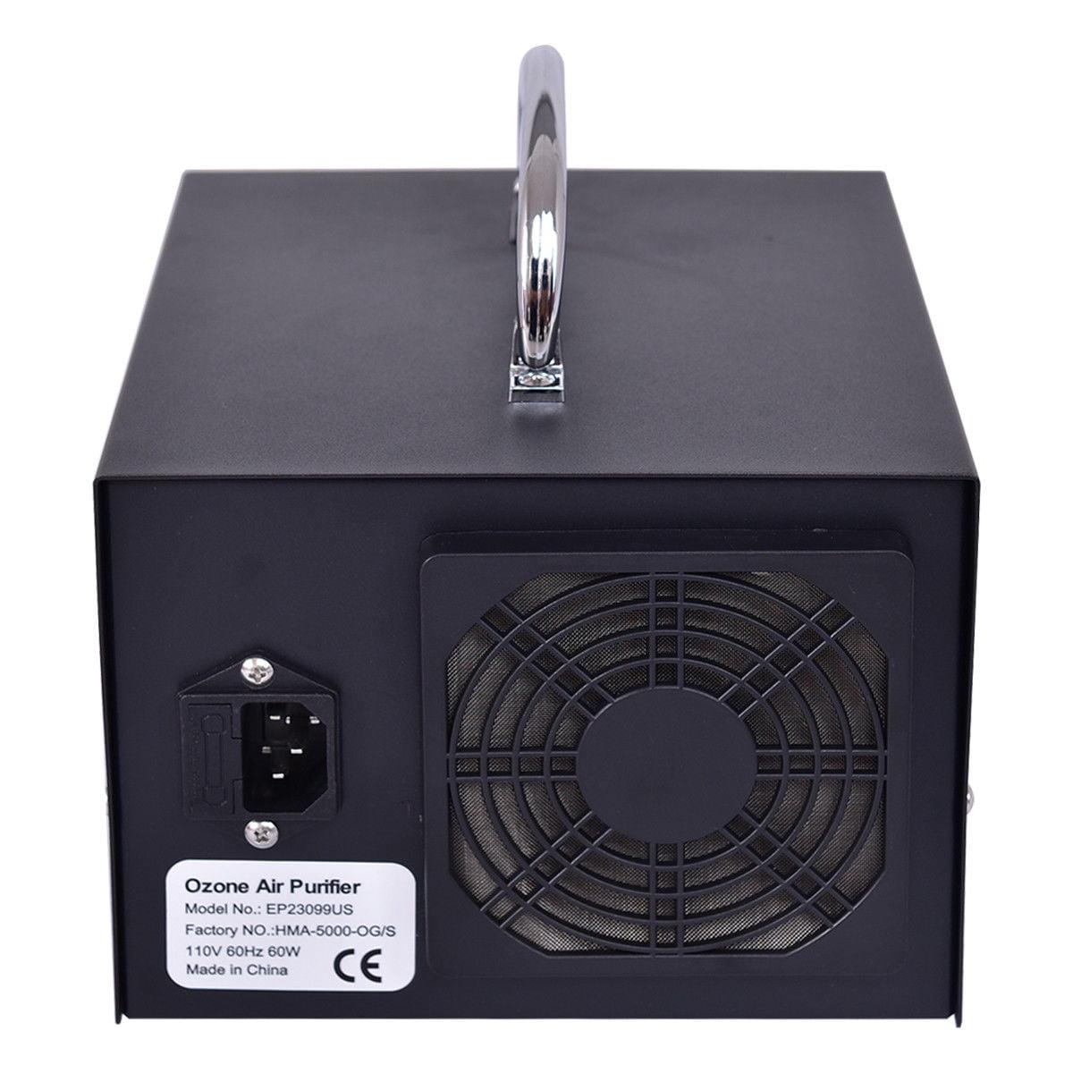 Gymax Commercial Ozone Generator 5000mg Industrial Air Purifier Deodorizer  Sterilizer
