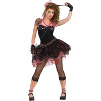 Morris Costumes Womens 1980s Diva Madonna Pop Rock Complete Outfit 12, Style RU888678