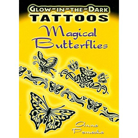 Glow-In-The-Dark Tattoos: Magical Butterflies (Butterfly Tatoo)