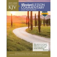 KJV Standard Lesson Commentary Large Print Edition 2019-2020