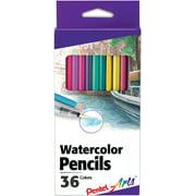 Pental Arts Watercolor Pencils 36/Pkg-Assorted Colors