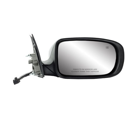 60629C - Fit System Passenger Side Mirror for 11-14 Dodge Charger, code GTF/ XR, textured black w/ PTM cover, foldaway, w/o memory, Power