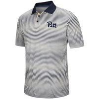 Pitt Panthers Colosseum Lesson Number One Polo - Gray