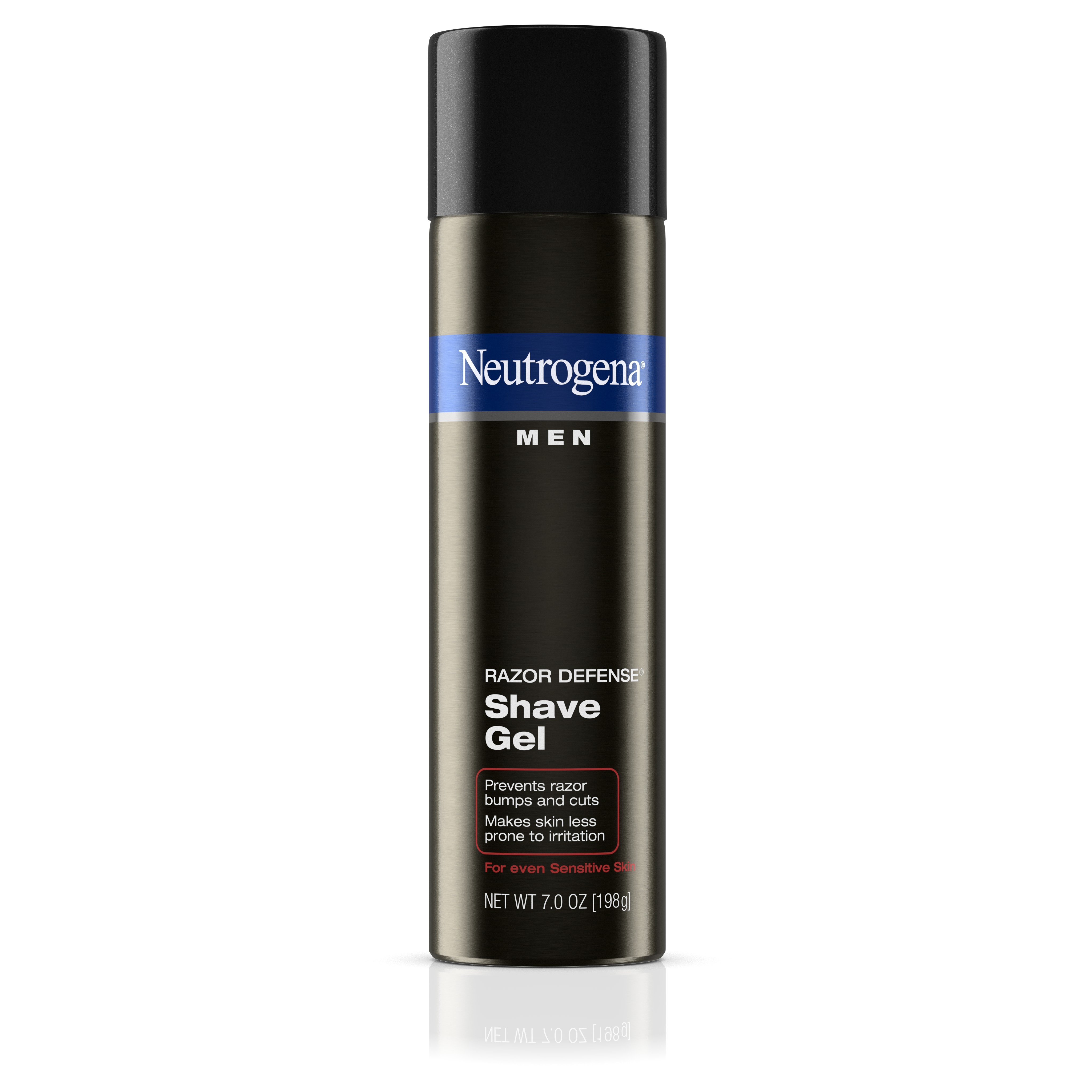 Neutrogena Men Razor Defense Shave Gel For Sensitive Skin, 7 oz