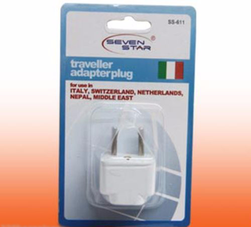 Asian European Style Universal Plug Adapter Seven Star SS611