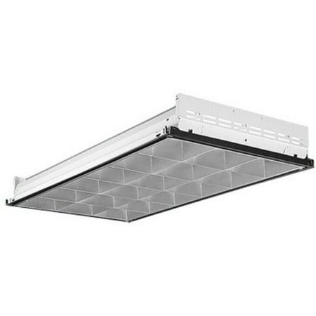 Linear Fluorescent Fixtures (Lithonia Lighting 2PM3N G B 4 32 32LD MVOLT 1/4 GEB10IS 4-Light Linear Recessed Fluorescent Fixture )