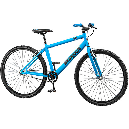 "26"" Mongoose Hex Men's Fitness Bike, Matte Blue"