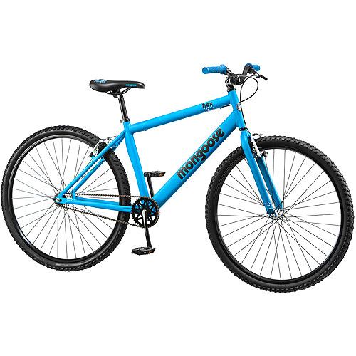 "29"" Mongoose Hex Men's Fitness Bike, Matte Blue"