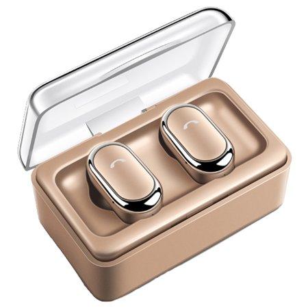 Mini Twins True Wireless Sports Earbuds Bluetooth In-Ear Stereo Headphones