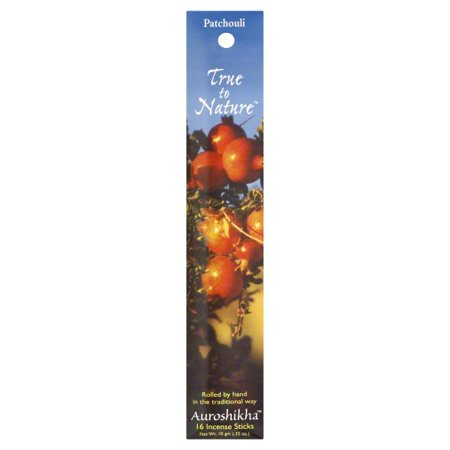 Auroshikha - True to Nature Incense Patchouli - 16 Stick(s) Auroshikha Incense Gift Set