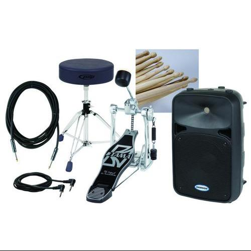 Samson Electronic Drum Set Add-on Pack 3 with Samson Active 2-Way Monitor