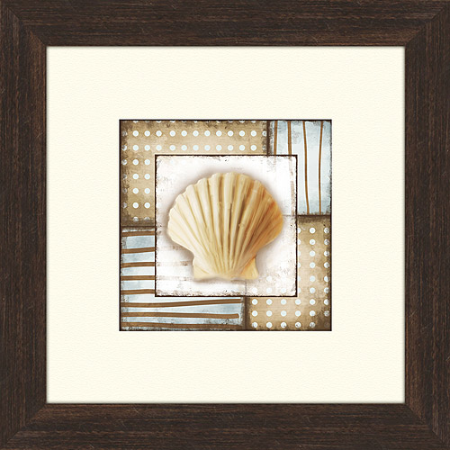 Click here to buy Brown and Blue Framed Artwork, II.
