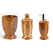 Nature Home Decor Series 300 3-Piece Bathroom Accessory Set