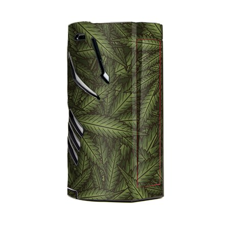 Skin Decal Vinyl Wrap for Smok T-Priv 3 Kit 300w TC Vape skins stickers cover / marijuana leaves pot weed ()