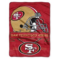 Product Image San Francisco 49ers The Northwest Company 60 X 80 Prestige Raschel Blanket