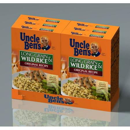 Product of Uncle Ben's Long Grain and Wild Rice Original Recipe, 6 ct./6 oz. [Biz