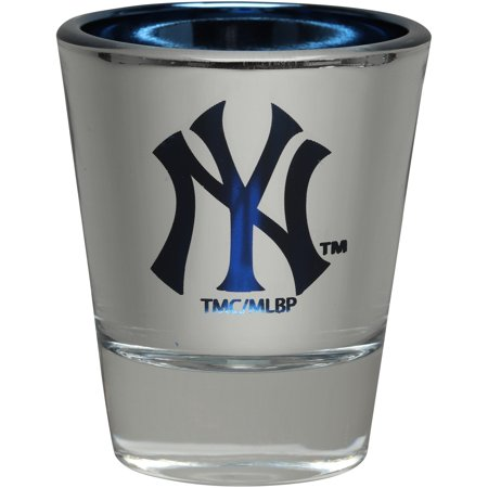 New York Yankees 2oz. Electroplated Shot Glass New York Jets Shot Glass