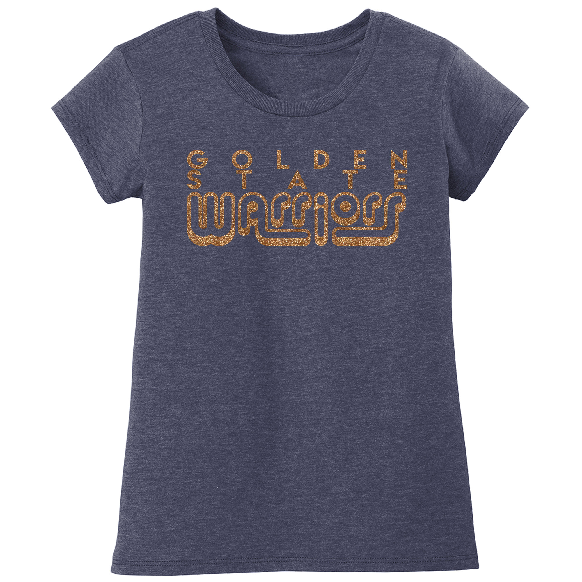 Golden State Warriors Girls Youth Sugar Coat T-Shirt - Blue