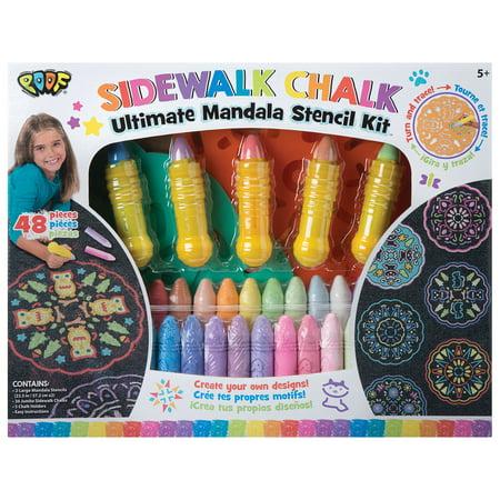 (POOF Ultimate Chalk Mandala Set)