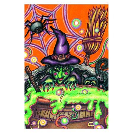 Toland Home Garden Magic Spell - Six Flags Magic Mountain Halloween