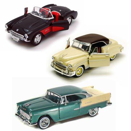 Best of 1950s Diecast Cars - Set 47 - Set of Three 1/24 Scale Diecast Model