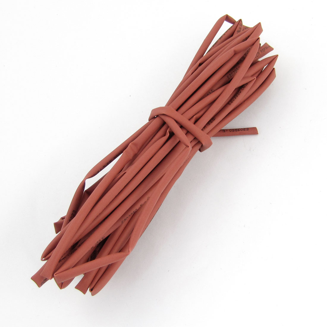 Unique Bargains Car Stereo DIY 2.5mm Diameter Polyolefin Heat-shrink Tube Red 5M 16.4Ft