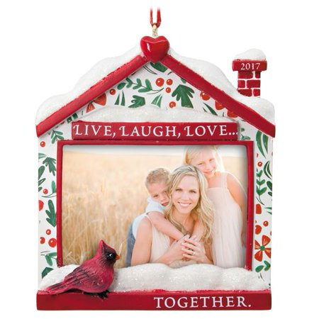 Live, Laugh, Love 2017 Picture Frame Hallmark Ornament