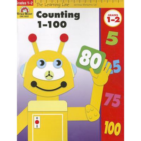 Counting 1-100, Grade 1-2 - Number Chart 1-100