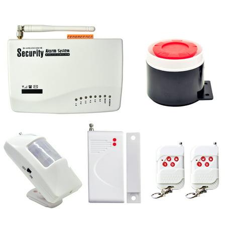 New Wireless Gsm Home Security Burglar Alarm System Auto Dialer Sms Call