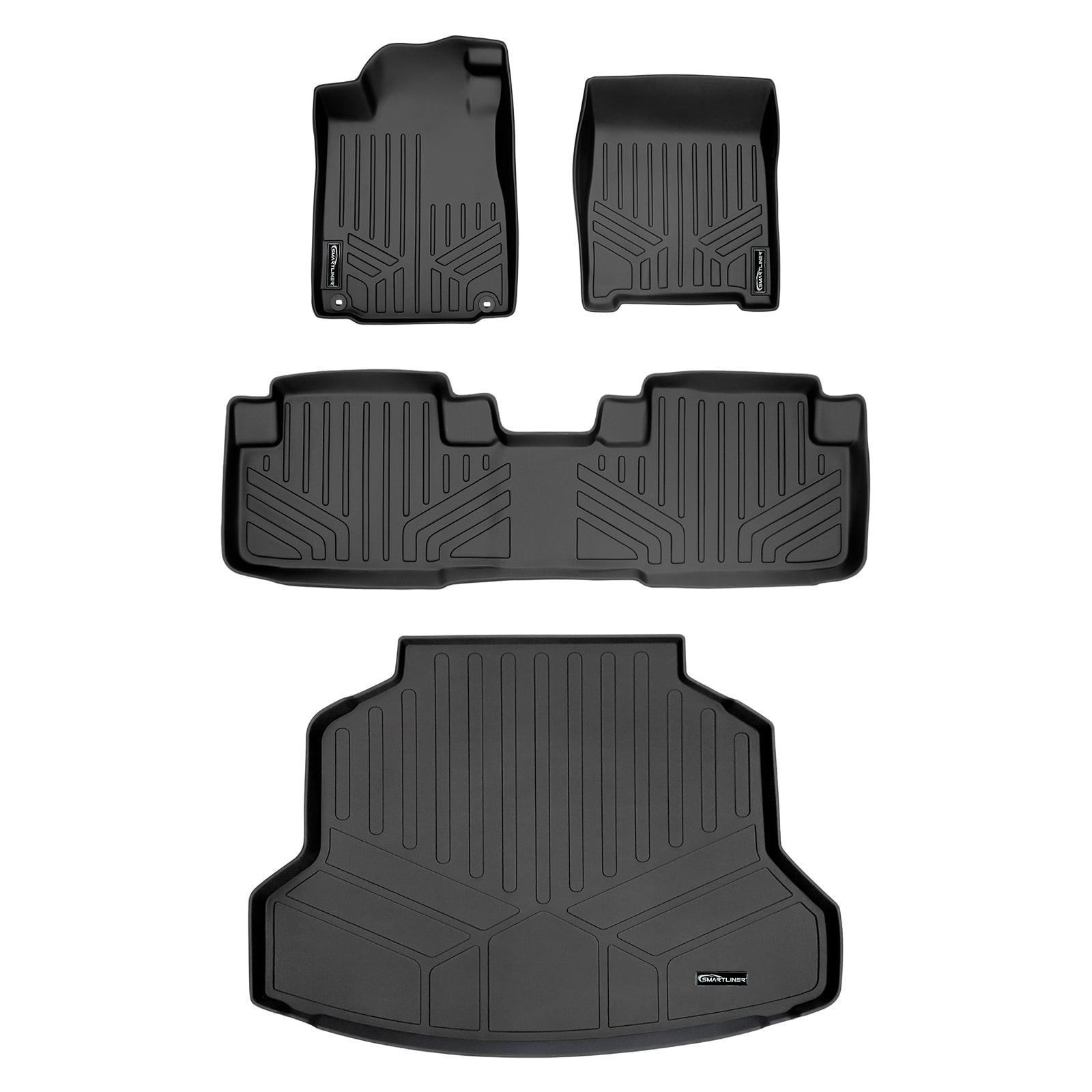 BLACK 1 Piece Trim to Fit Odorless Premium Cargo Trunk Mat for HONDA CRV
