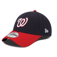 Washington Nationals New Era Men's League 9Forty Adjustable Hat - Navy - OSFA