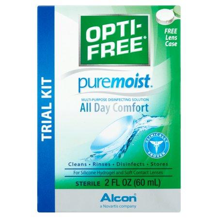 Image of Alcon Opti-Free PureMoist Multi-Purpose Disinfecting Solution, 2 oz