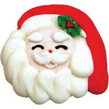 Smiling Santa Face 2-1/4