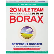 20 Mule Team All Natural Borax Detergent Booster & Multi-Purpose Household Cleaner, 65 Ounce
