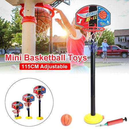 - 7 Types Height Adjustable/Hanging Mobile Portable Shooting Frame Basketball System Game Set for Children Kids Teens