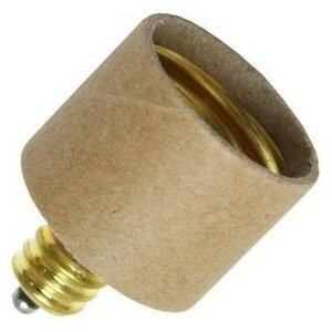 E12 Candelabra To E26 Medium Base Light Bulb Adapter Conv...
