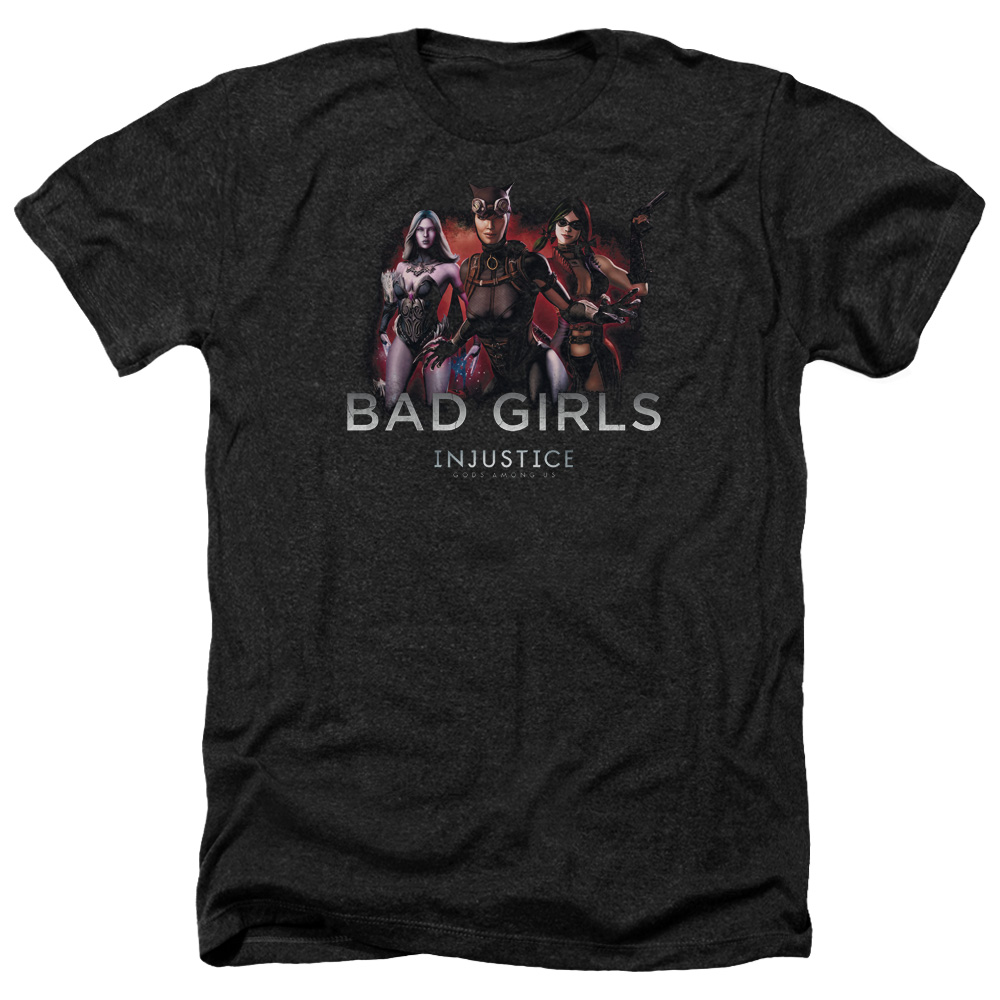Injustice Gods Among Us Bad Girls Mens Heather Shirt