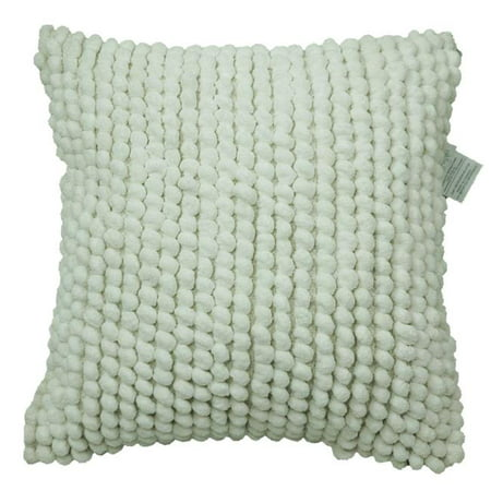 Urban Loft by Westex 651214 20 x 20 in. Bubbles Poly FIlled Decorative Throw Pillow Cushion - White, Square - image 1 of 1