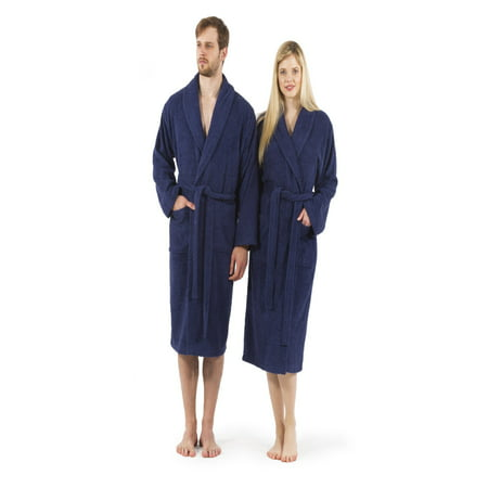 Linum Home Textiles Unisex Terry Cloth Bathrobe - Walmart.com 8ff328e45