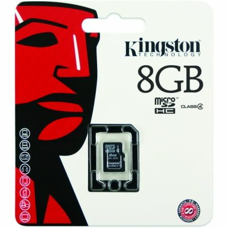 Kingston 8GB Micro Secure Digital High Capacity (SDHC) Card - Class 4 - image 1 of 1