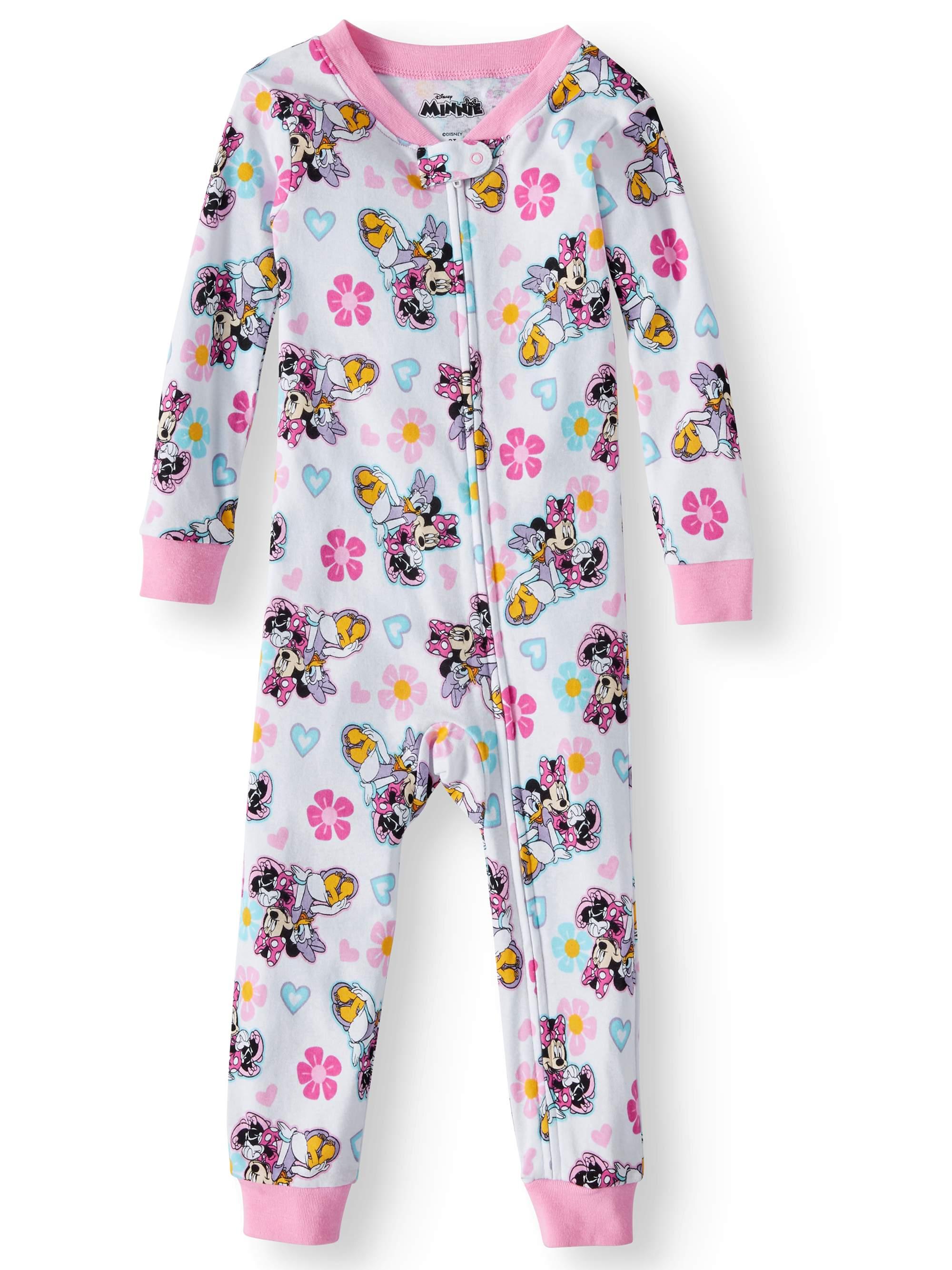 Cotton Footless Pajama Sleeper (Toddler Girls)