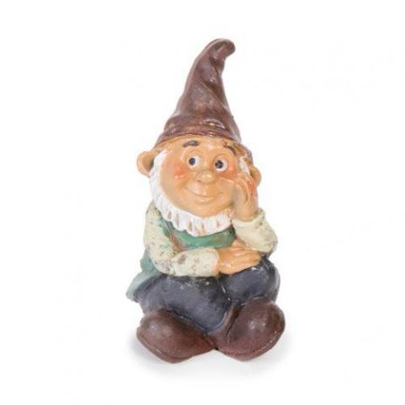 Darice Fairy Garden Sitting Boy Gnome-3