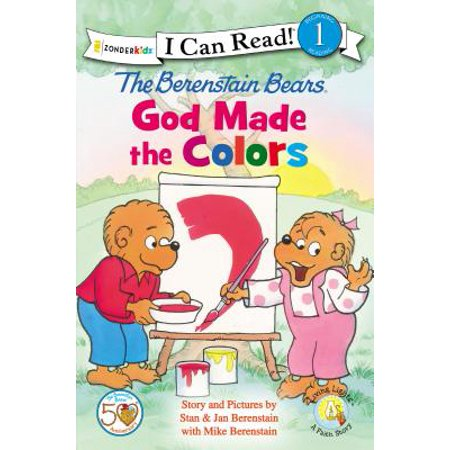 New Gods Light (I Can Read! / Berenstain Bears / Living Lights: The Berenstain Bears, God Made the Colors (Paperback))