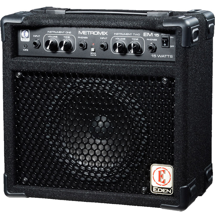 Eden EM15 Metromix 15-Watt 1x8' Combo Bass Amplifier by DigiTech