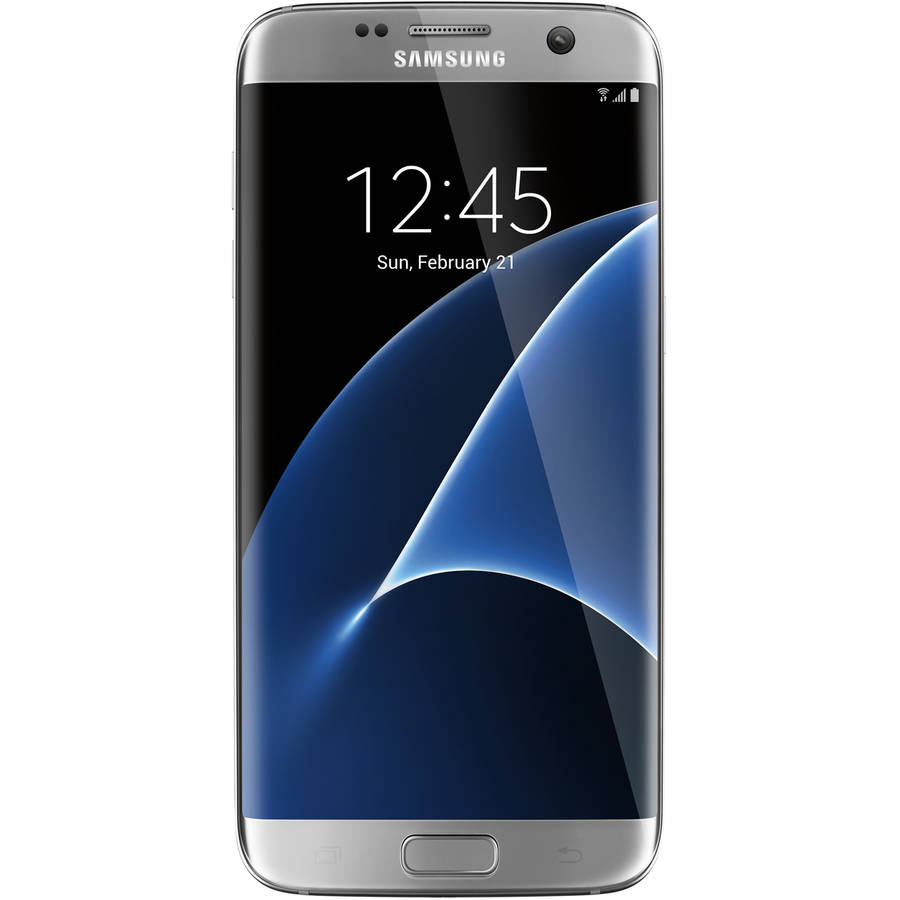 Samsung Galaxy S7 Edge Unlocked 32GB GSM and CDMA Smartphone, Silver Titanium