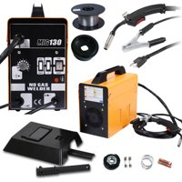 Ktaxon 110V MIG 130 Welder Welding Machine, Flux Core Wire Automatic Feed Welding Machine, w/ Cool Face Mask, Color Optional
