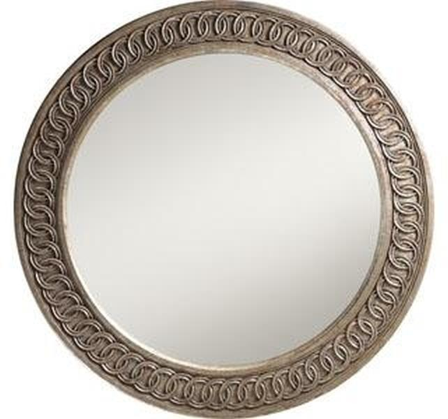Wall Mirror FRENCH HERITAGE MAISON AVALLON Classic Motif Round Interlocki FH-943